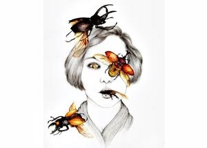 Illustrazione di Peony Yip scelta da Martina Giorgi per illustrare il racconto su Vicolo Cannery