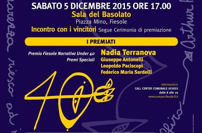 Premio Fiesole 2015