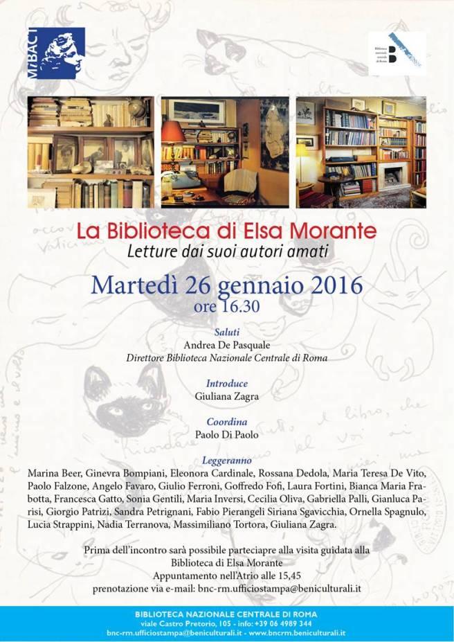 Biblioteca di Elsa Morante